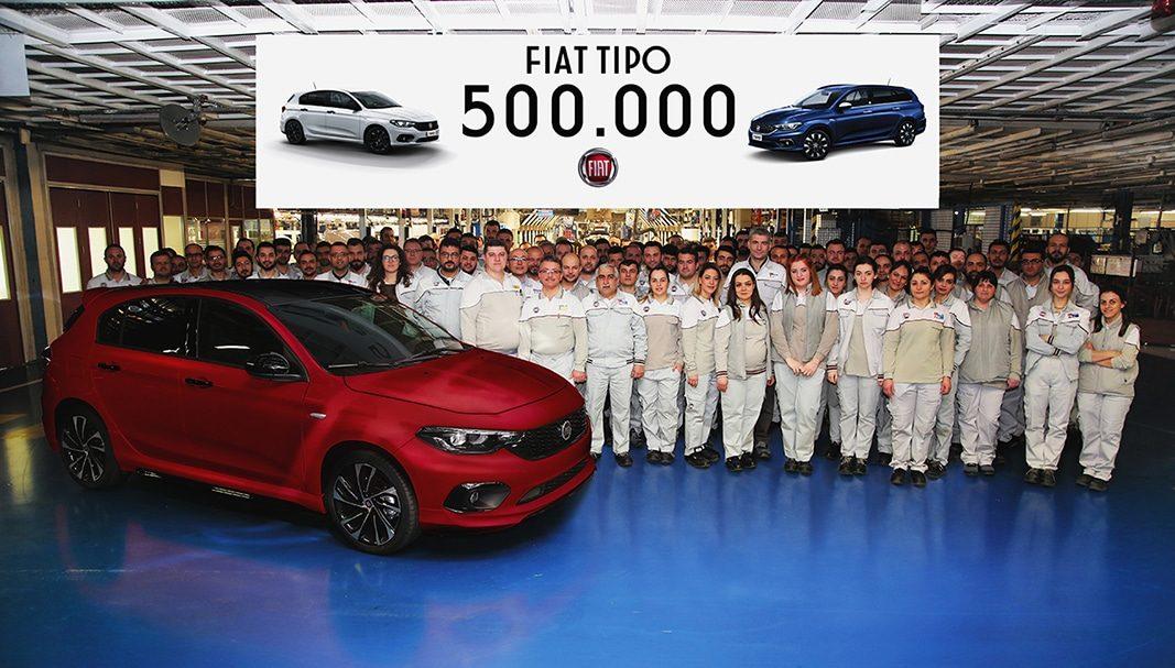 Fiat alcanza las 500.000 unidades fabricadas del Tipo