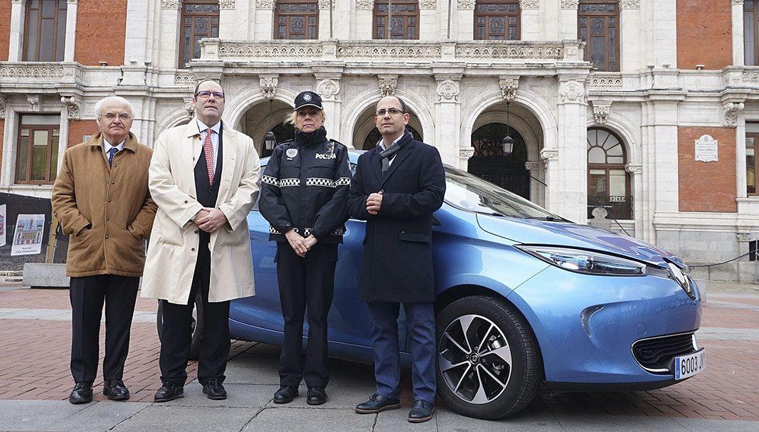 La Policía Municipal de Valladolid adquiere un Renault ZOE