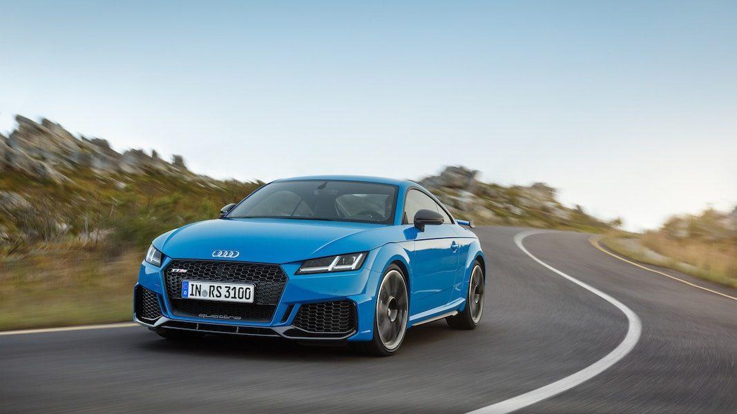 Los RS del Audi TT, listos para el mercado español
