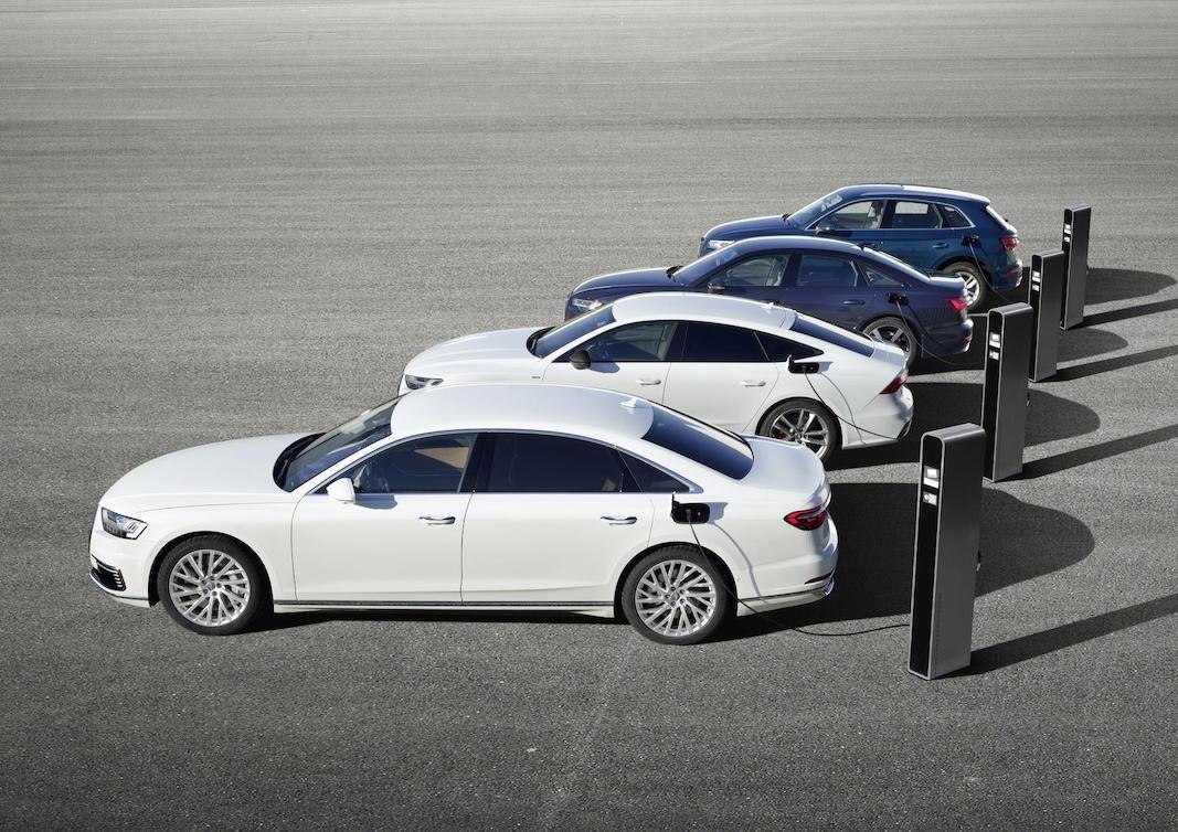 Ofensiva híbrida de Audi con los nuevos enchufables A8, A7 Sportback, A6 y Q5