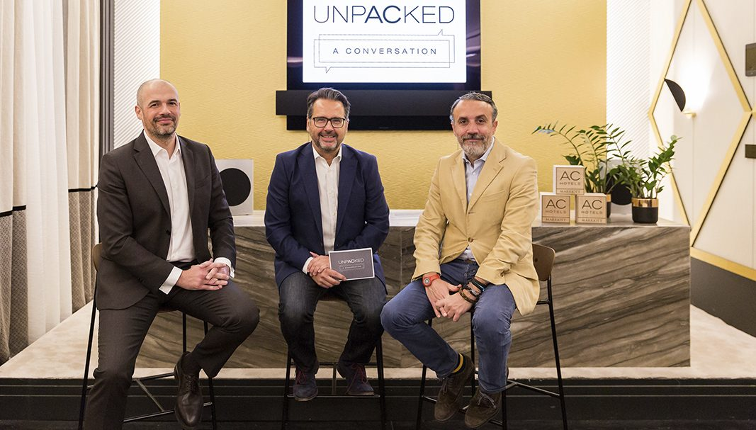 "AC Hotels by Marriott presenta la primera ""Unpacked: A Conversation"""