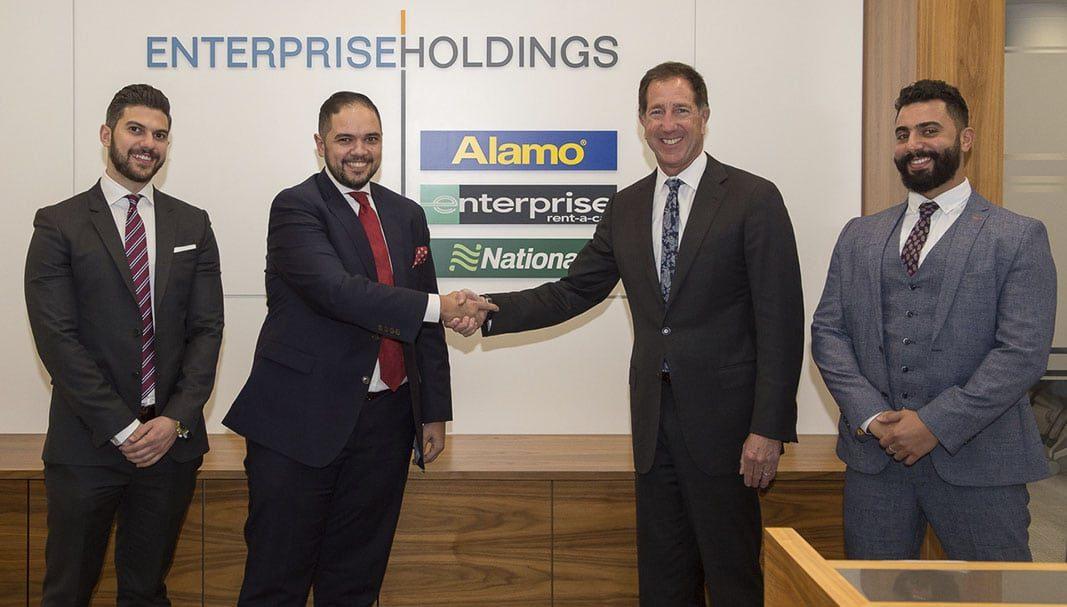 Enterprise y Premier Group se unen para impulsar el alquiler de coches en Egipto