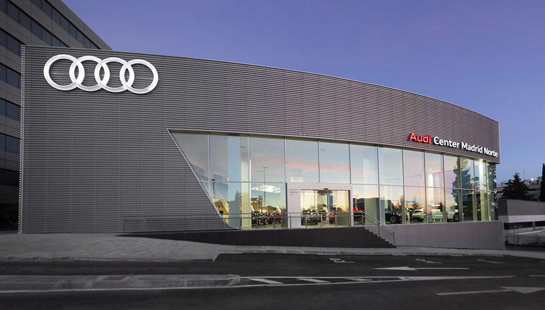 Audi inaugura su concesionario más internacional en Madrid