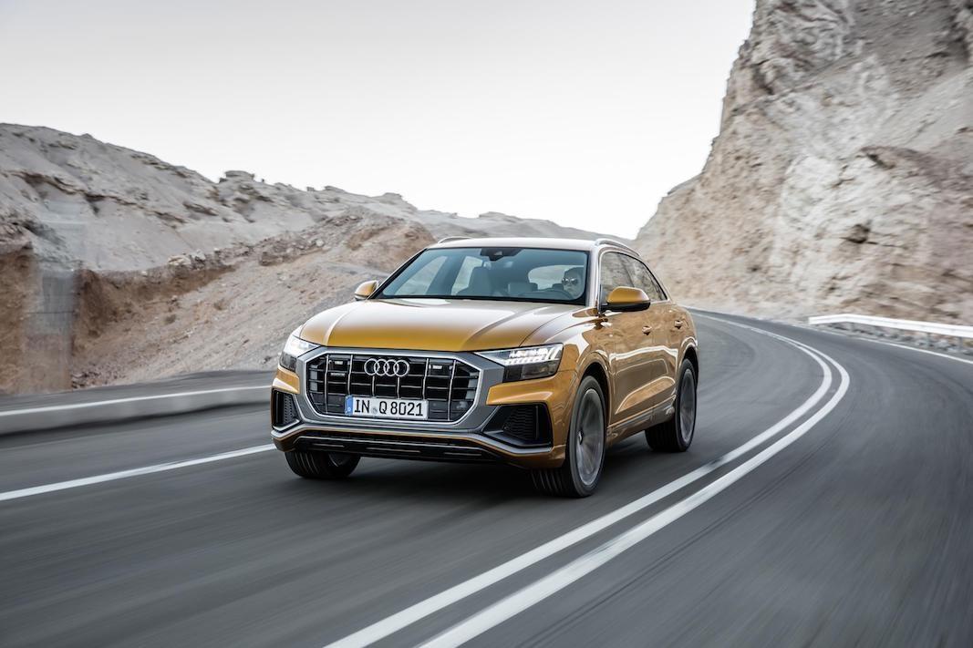 Audi incorpora dos nuevos motores V6, gasolina y diésel, al nuevo Q8
