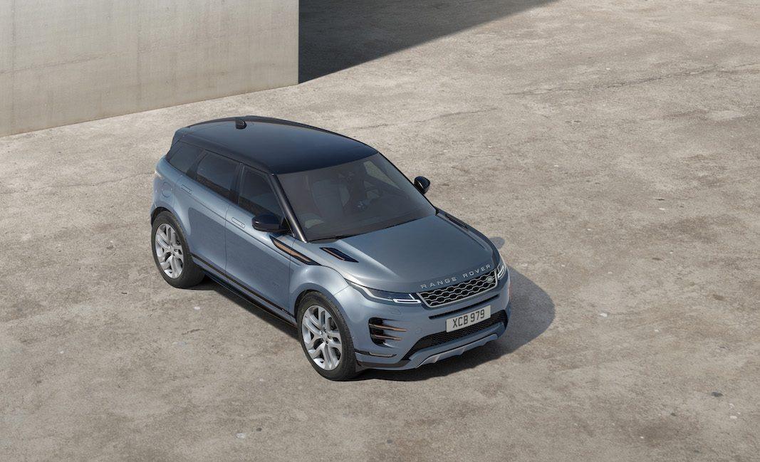 El nuevo Range Rover Evoque, desde 40.000 euros, llega al mercado con hibridación suave y etiqueta ECO