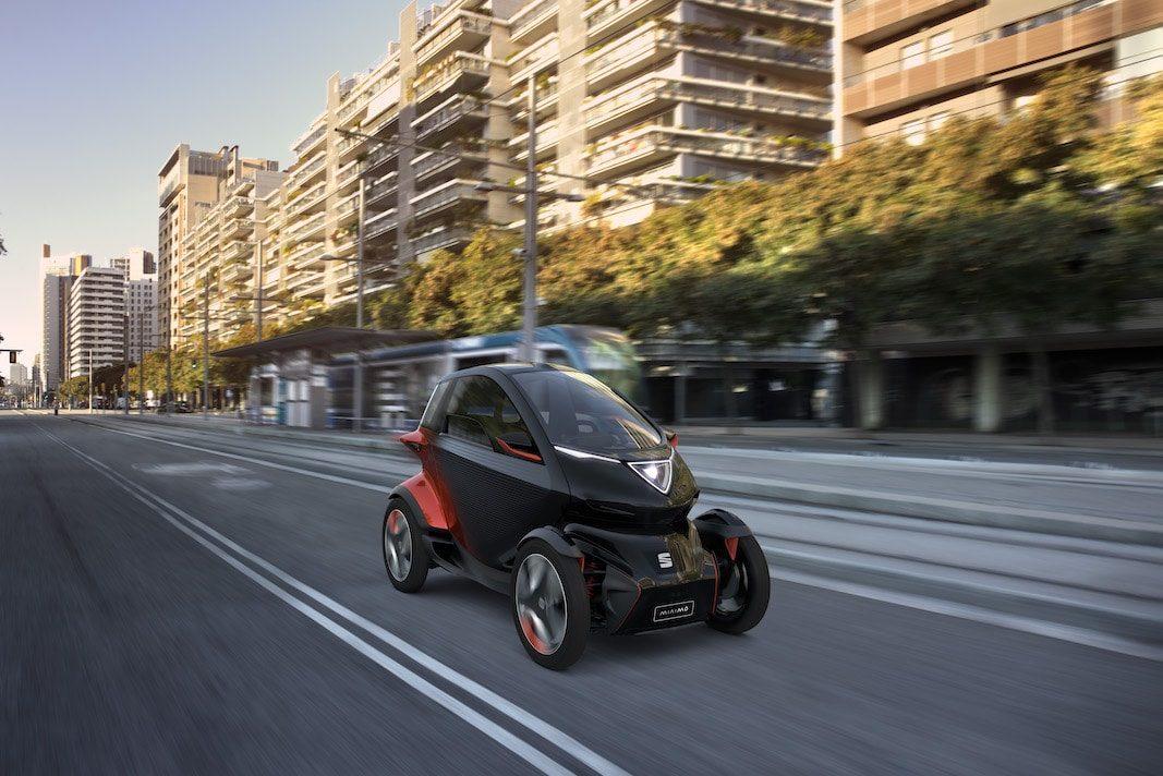 Minimó, una visión  de la movilidad futura de SEAT