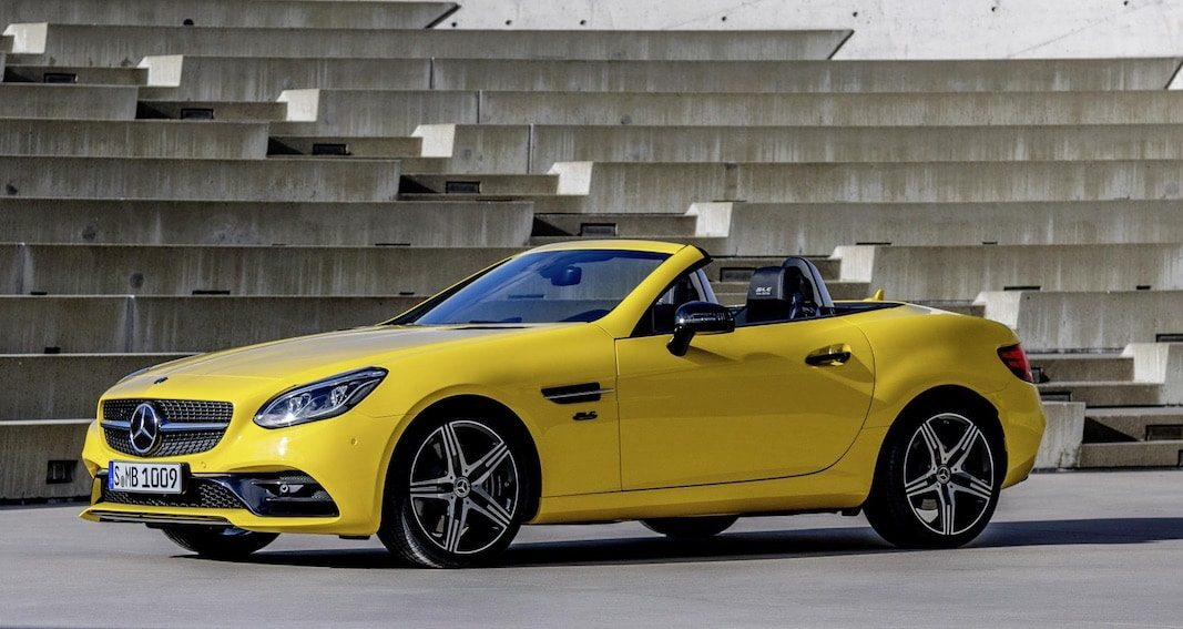 Final Edition del biplaza Mercedes-Benz SLC (antes SLK)