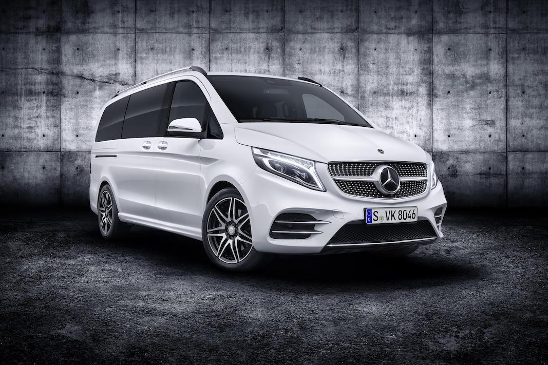 Mercedes-Benz renueva la Clase V, que estrena motores de nueva generación