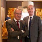 Pedro Malla, consejero delegado de ALD, junto con Gilles Bellemère, vicepresidente internacional de ALD, en Madrid. // FOTOGRAFÍA: DANIEL SANTAMARÍA / FLEET PEOPLE