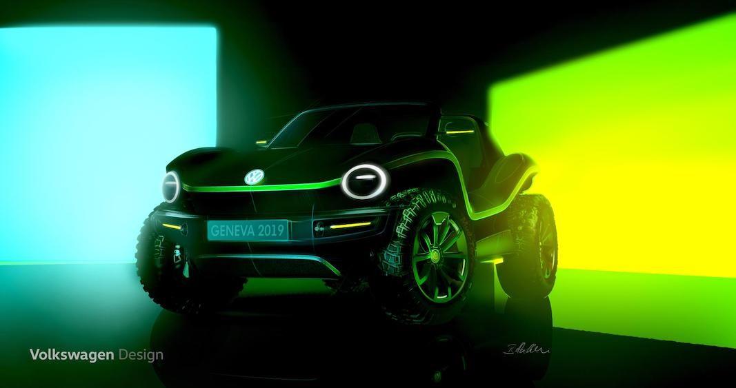 Volkswagen revelará en Ginebra la primera versión totalmente eléctrica de un nuevo buggy