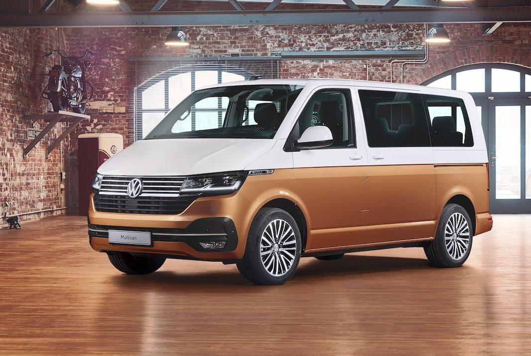 Volkswagen actualiza el Multivan para comercializarlo en otoño