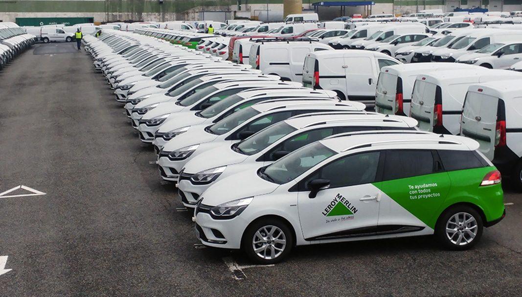 Renault entrega una flota de 76 Clio CLIO Sport Tourer a Leroy Merlin