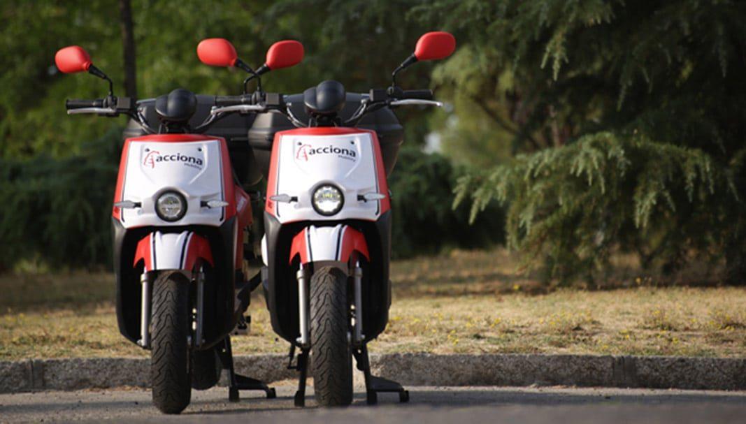 Acciona estrena servicio de motosharing con 100 motos en L'Hospitalet