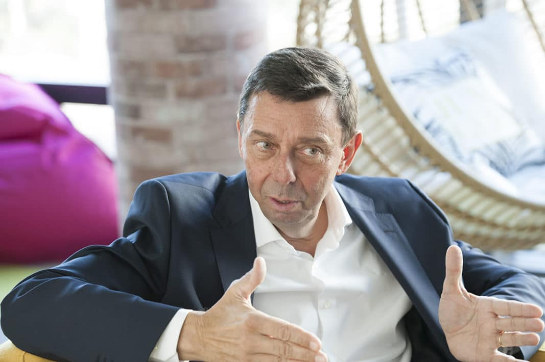 Alain Van Goenendael es presidente y consejero delegado de Arval. / FOTOGRAFÍA: FERNANDO ARÚS / @FLEET PEOPLE