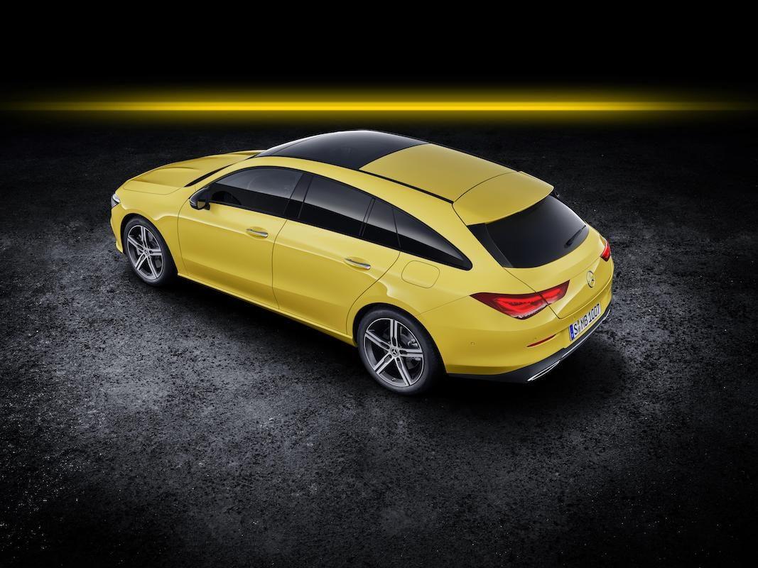 Mercedes-Benz CLA Shooting Brake, un deportivo con espacio de carga