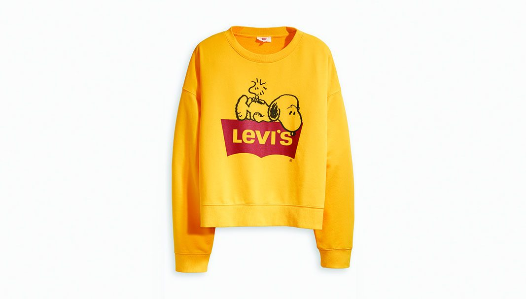 Charlie Brown, Linus, Lucy y Peppermint Patty, protagonistas en Levi's