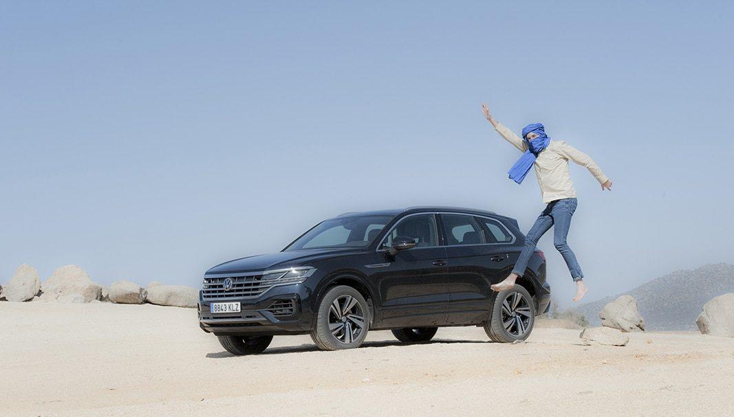 Volkswagen Touareg, el último nómada del desierto que domina la clase ejecutiva
