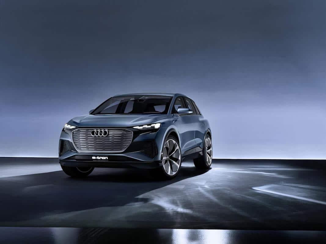 Q4 e-tron concept, anticipo del quinto modelo eléctrico de fabricación en serie de Audi