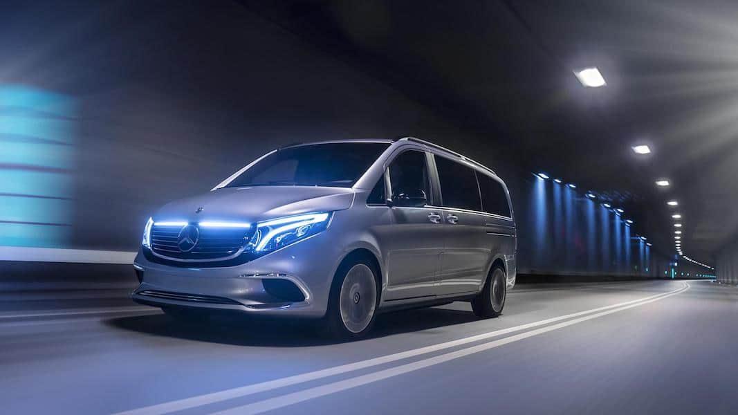 EQV, el concepto con el que Mercedes-Benz muestra el futuro eléctrico del monovolumen