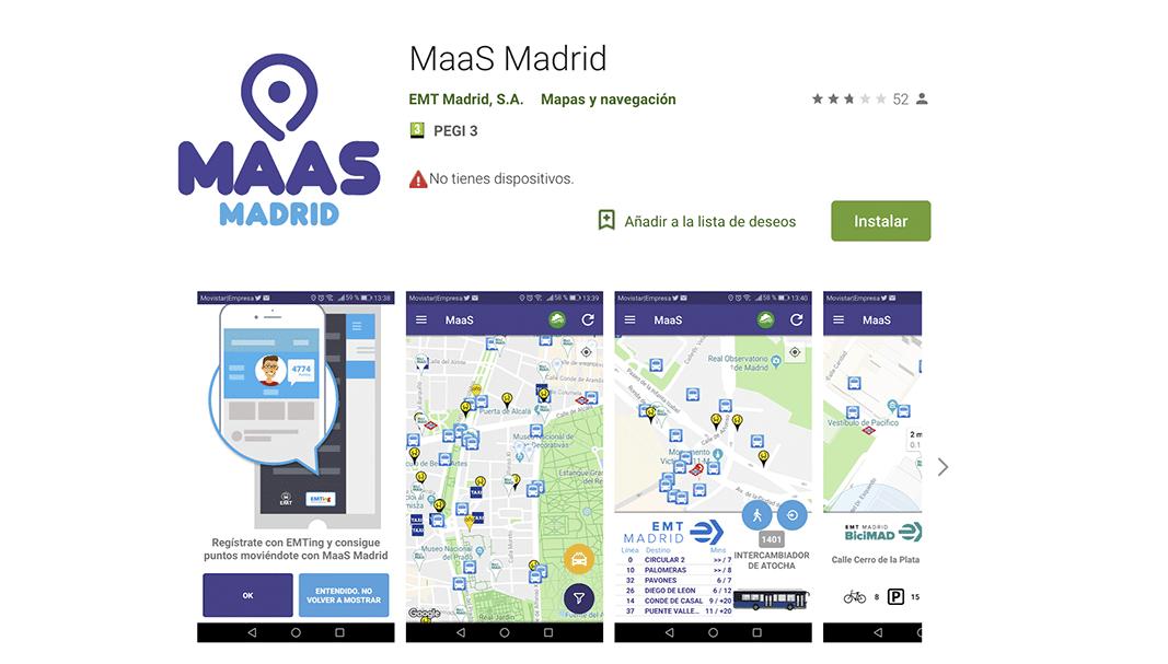 MaaS Madrid incluye a la primera empresa de patinetes en su servicio