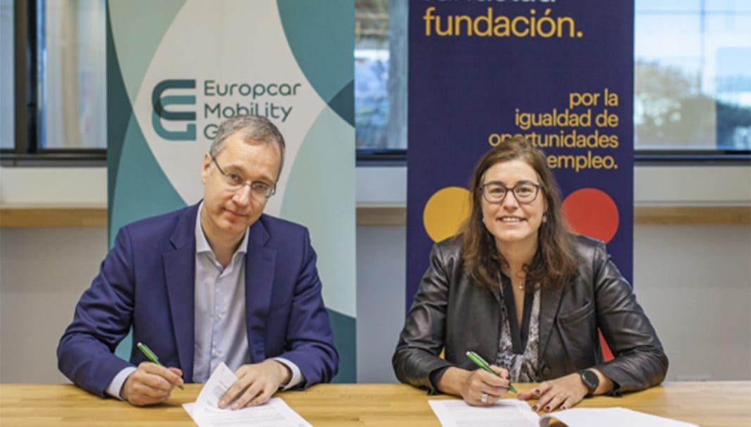 Europcar España y la Fundación Randstad se unen por la inserción laboral