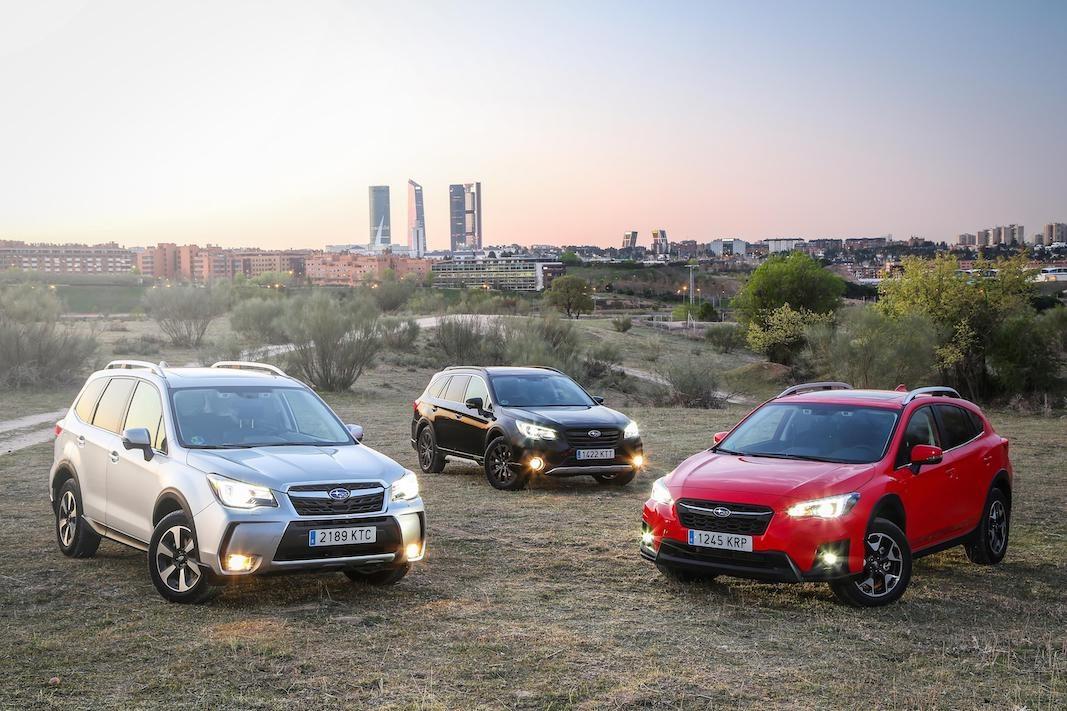 Subaru renueva la gama Eco Bi-fuel de gasolina y GLP