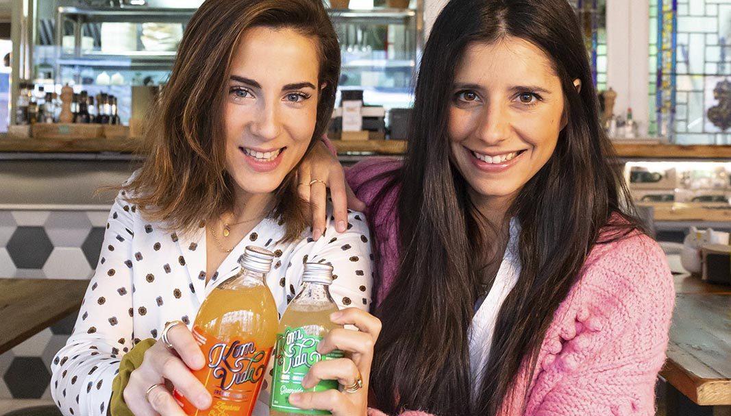 Nuria Morales y Beatriz magro son las alma máter de la firma de Kombucha Komvida