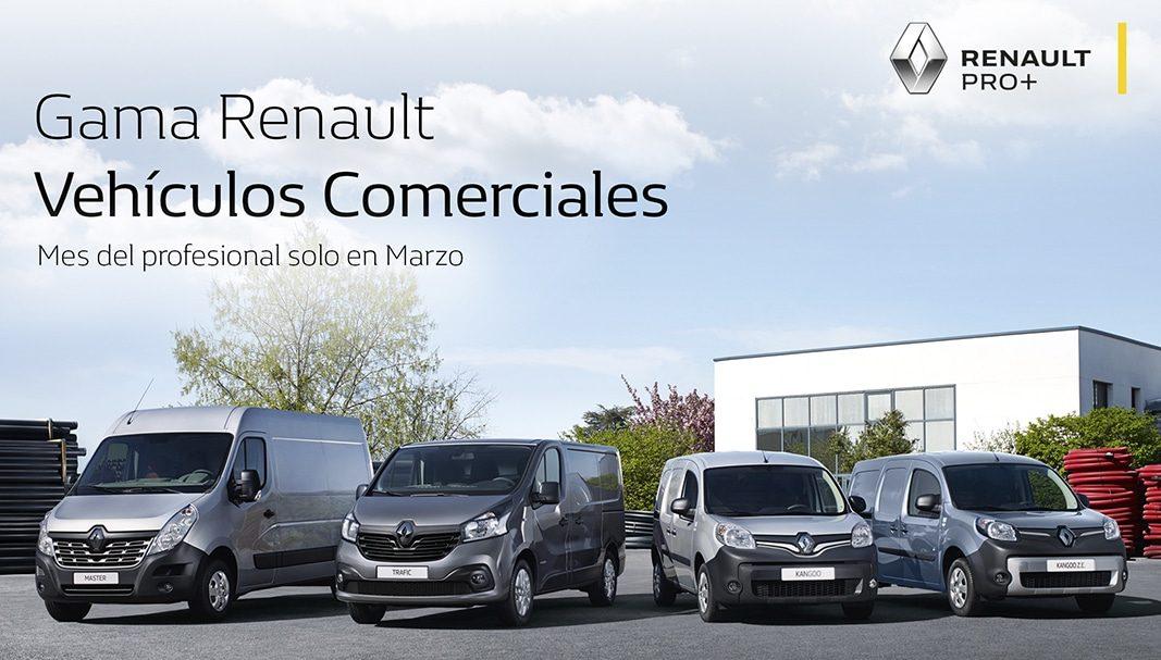 Renault lanza la campaña Mes del Profesional para autónomos y pymes
