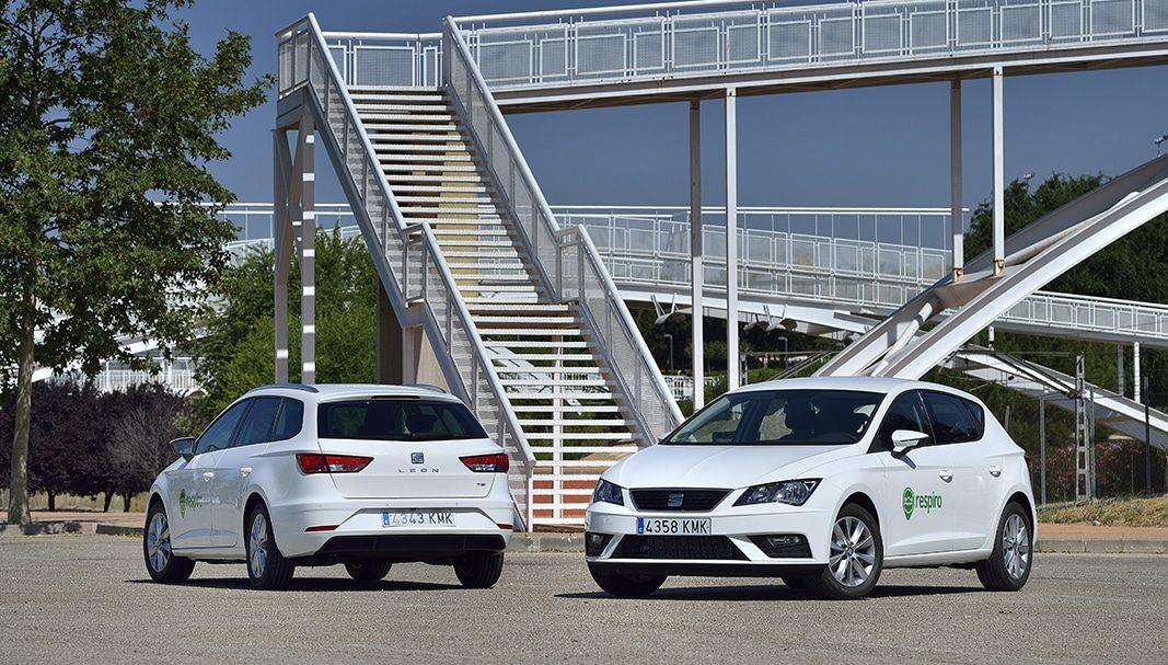 Respiro renueva su flota de coches con etiqueta ECO en Madrid