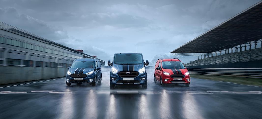 Custom Sport, la opción más potente de la gama Ford Transit Sport