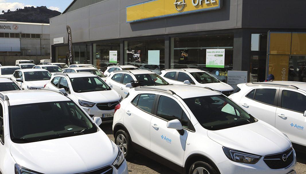 AME renueva su flota de vehículos impulsados por combustible GLP