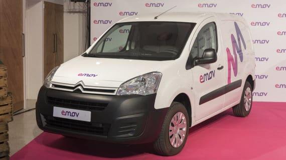 Emov incluye en su oferta el Citroën Berlingo eléctrico