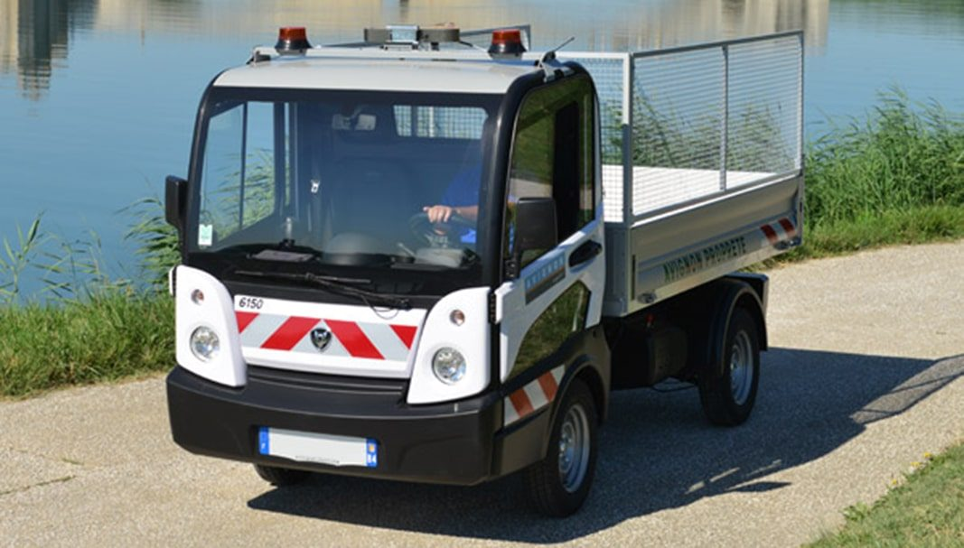 Goupil Industrie conecta sus vehículos eléctricos con Geotab