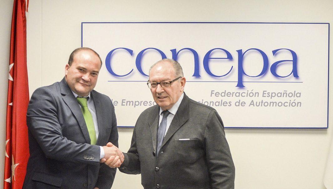 ANGEREA y CONEPA cooperan juntos por el medio ambiente