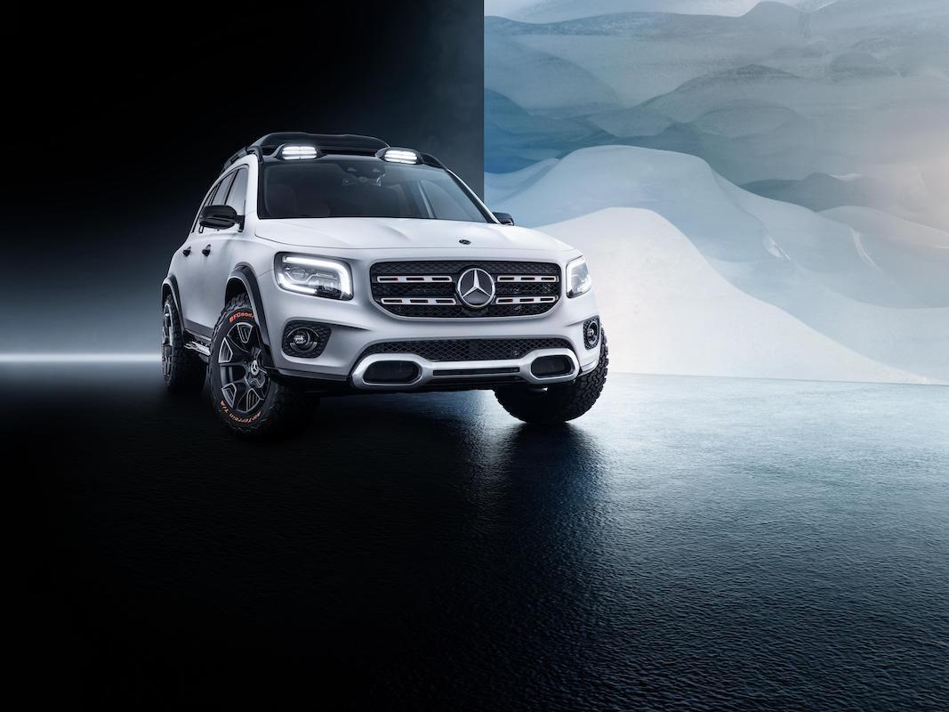 Mercedes-Benz Concept GLB, un SUV compacto más allá del GLA
