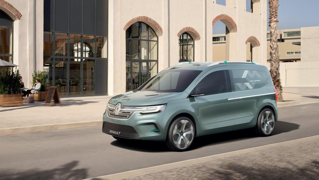Renault perfila estrategia con cuatro nuevos vehículos comerciales, incluido un Kangoo eléctrico