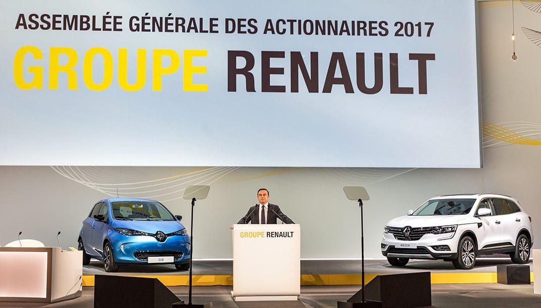 Las ventas del Grupo Renault caen un 5,6% el primer trimestre