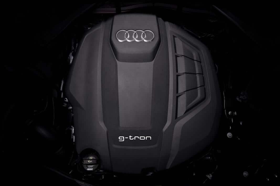 Audi actualiza los tres modelos de la gama g-tron de gas natural