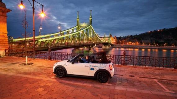 Share Now inicia sus servicios de carsharing en Budapest