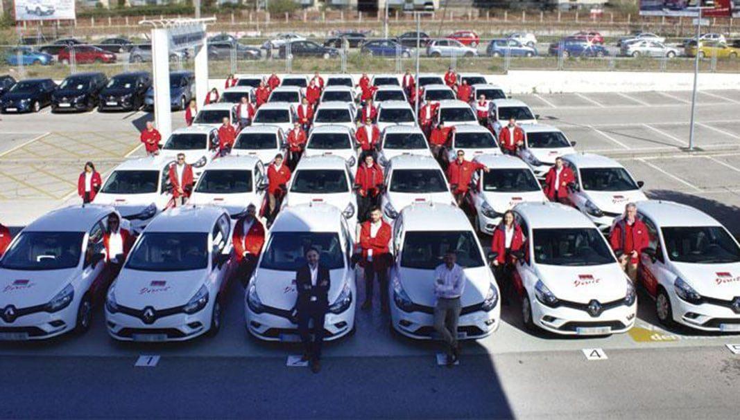 La red comercial de Securitas Direct en Madrid estrena vehículos ECO