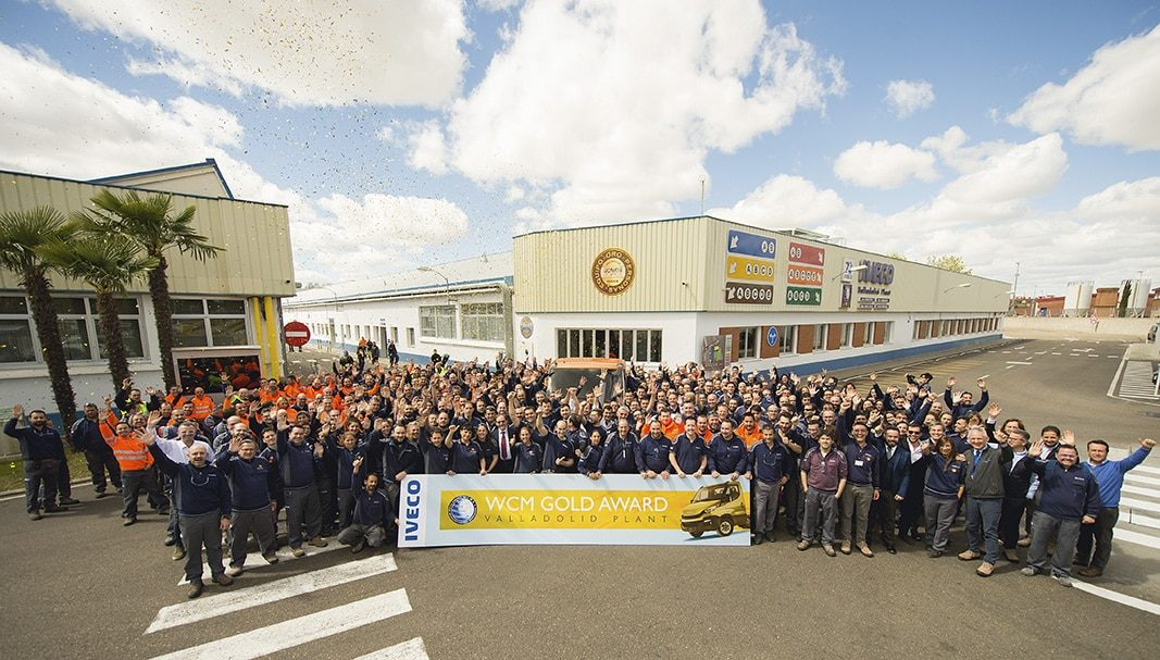 La Planta de IVECO en Valladolid premiada con el Oro en World Class Manufacturing