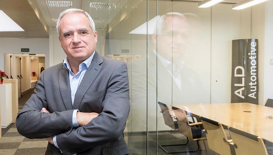 Pedro Malla es el primer ejecutivo de ALD en España. FOTOGRAFÍA: DANIEL SANTAMARÍA @FLEET PEOPLE