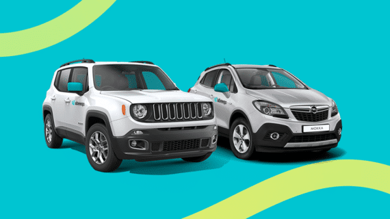 Ubeeqo amplía su flota con modelos SUV, ECO y todoterrenos