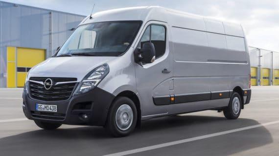 La nueva generación del Opel Movano estará en el mercado en otoño