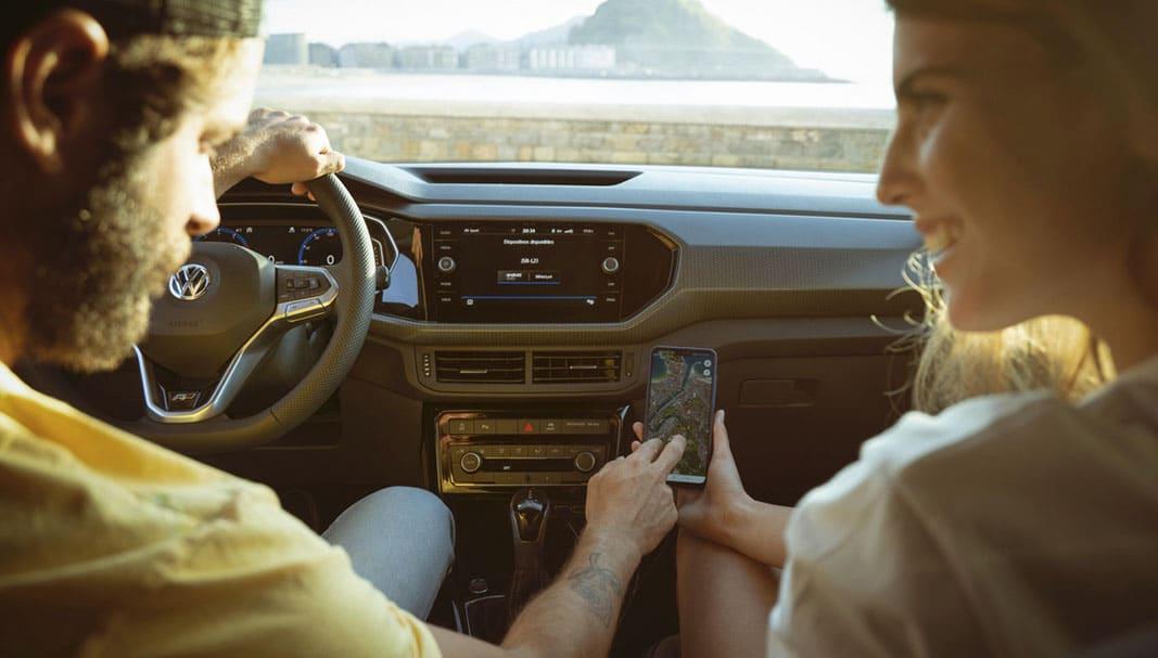 La 'app' específica de VW posibilita interconectar con el coche. // FOTOGRAFÍA: VOLKSWAGEN