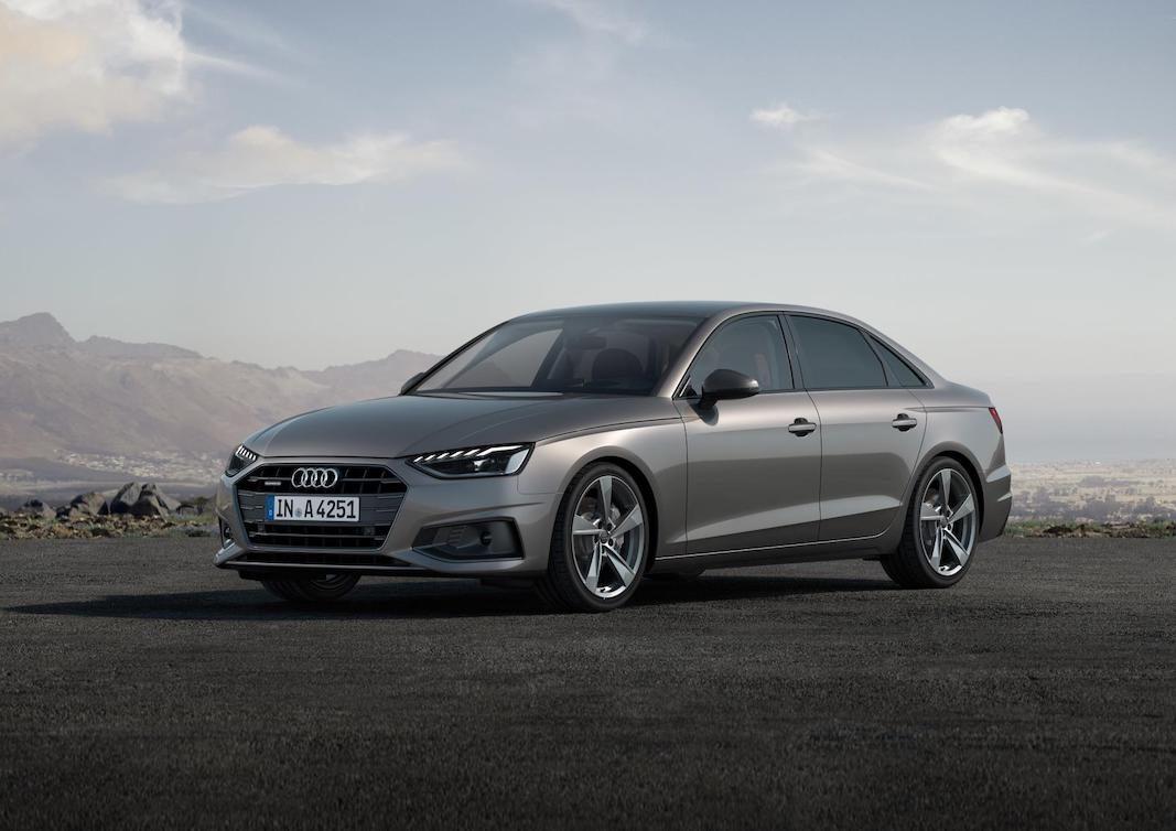 Audi actualiza el A4 con más tono deportivo e hibridaciones de 12 V y 48 V