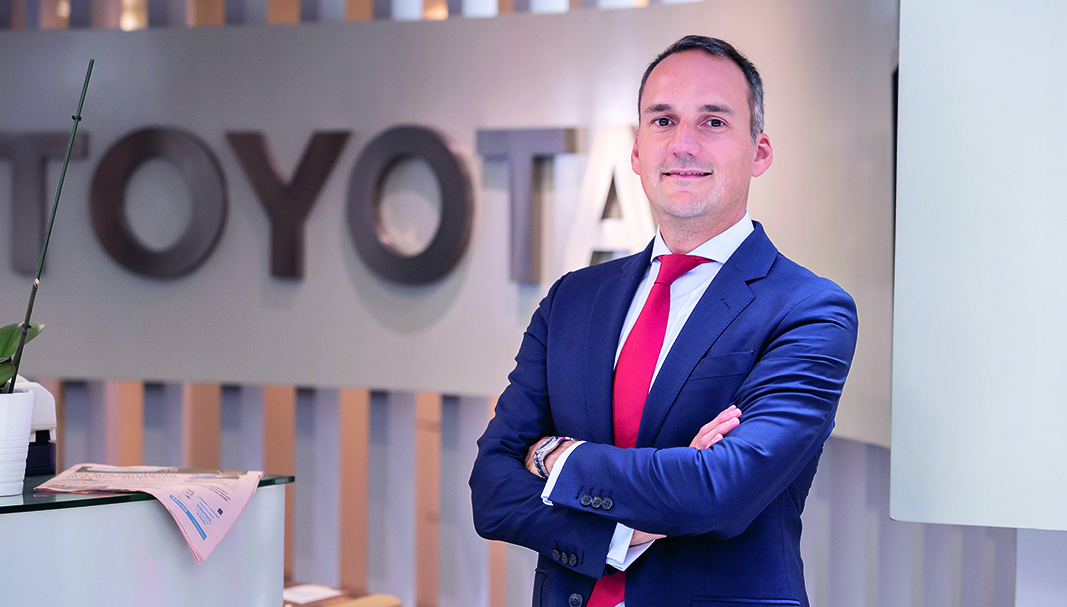 Álvaro Aparicio es director de Flotas de Toyota España. FOTOGRAFÍA: DANIEL SANTAMARÍA