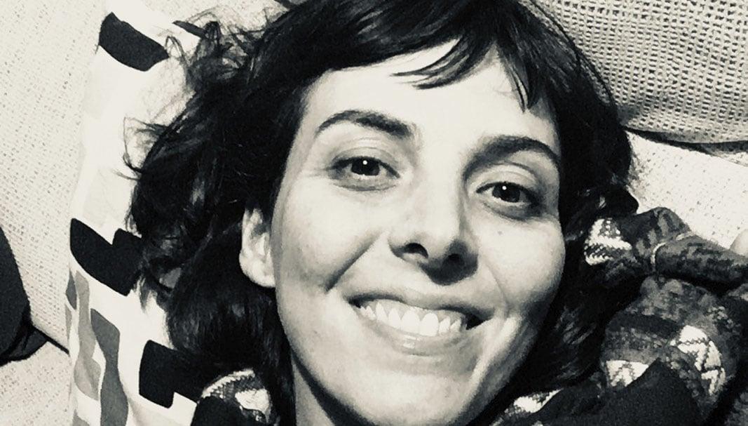 La artista Alba Soto.