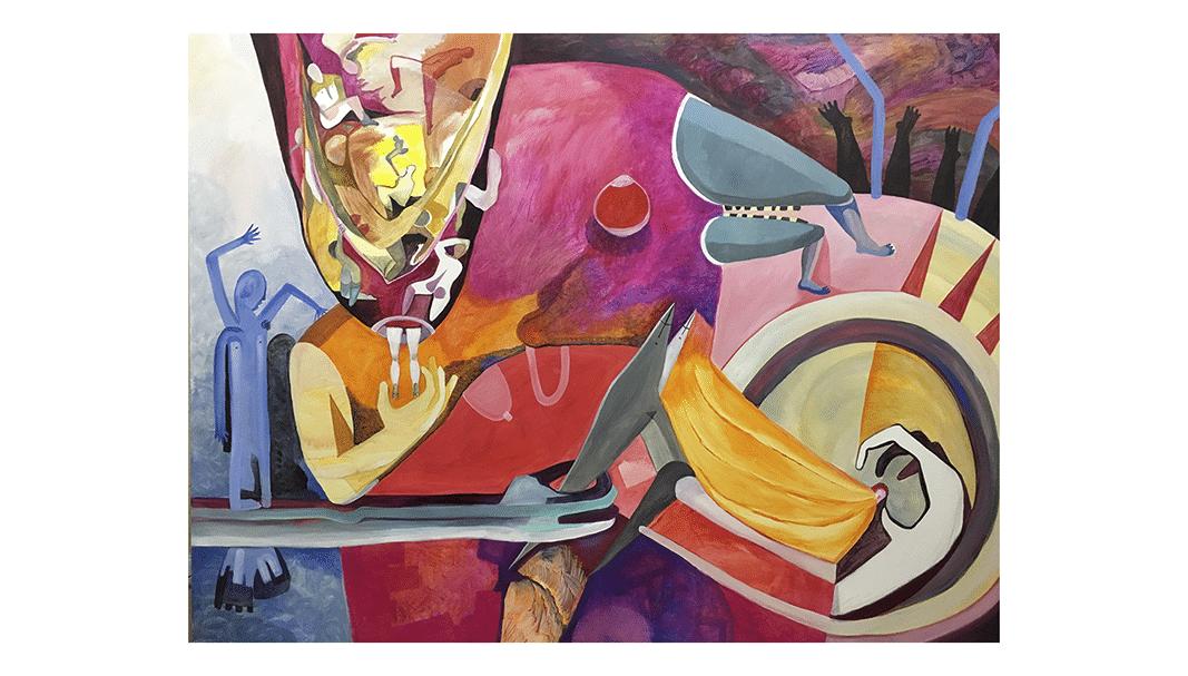 El Lobby Art Gallery muestra la obra de Alba Soto 'Lo azaroso'
