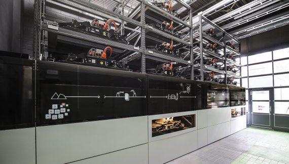 Audi activa una unidad de almacenamiento de baterías en Berlín